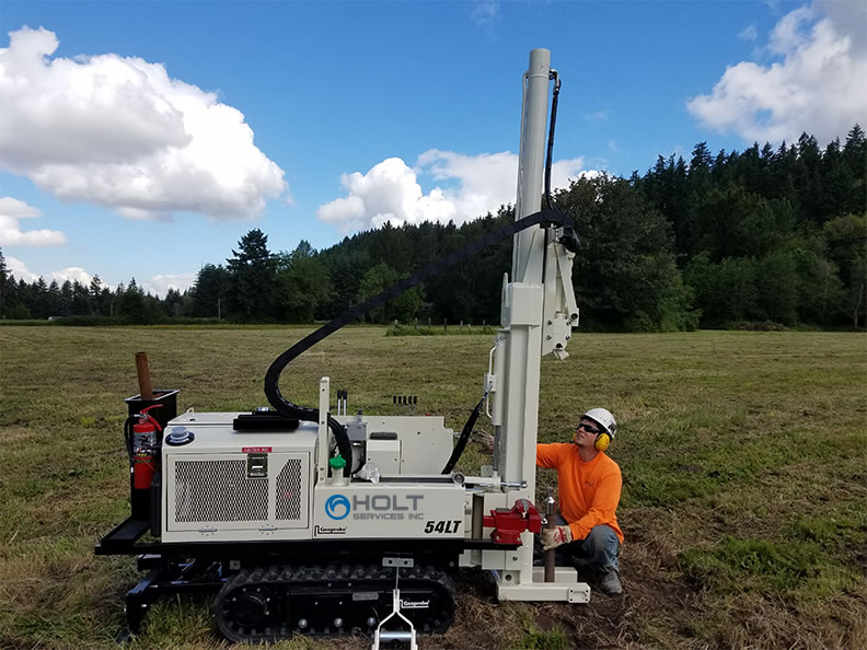 Direct Push Drill Rigs Holt Services Inc Seattle