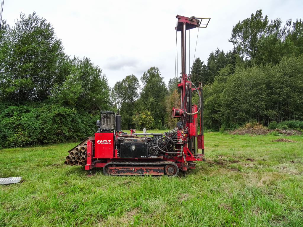 Hollow Stem Auger / Mud Rotary / Core Drill Rigs for