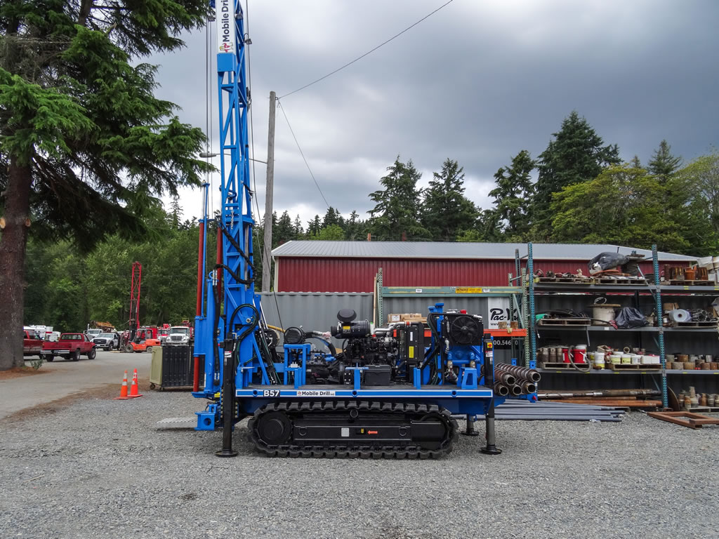 Limited Access, All Terrain, Rubber Track Drill Rigs